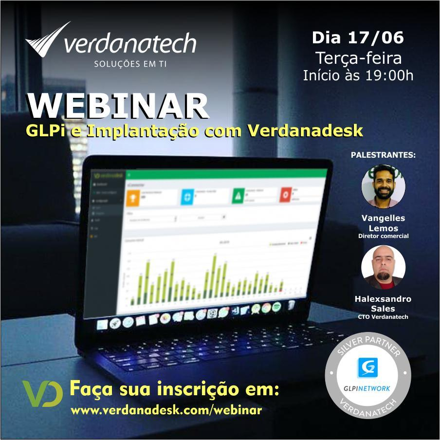 GLPi e implantação com Verdanadesk