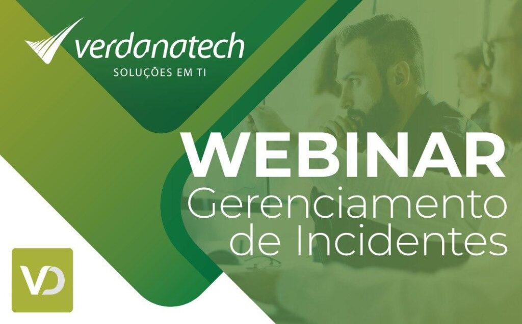 Webinar Gerenciamento de Incidentes